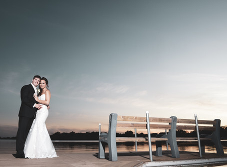 An Outdoor Ceremony at Aud Mar Banquet Hall.
