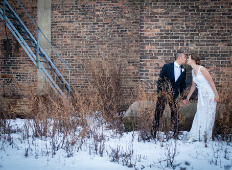 Winter Wedding in Ivy House, Milwaukee WI