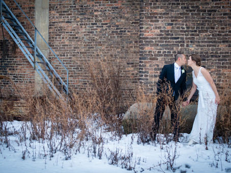 Winter Wedding in Ivy House, Milwaukee WI