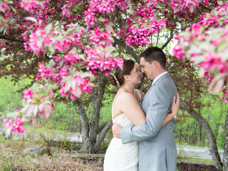 A perfect Outdoor Ceremony Wedding At Western Lakes Country Club.