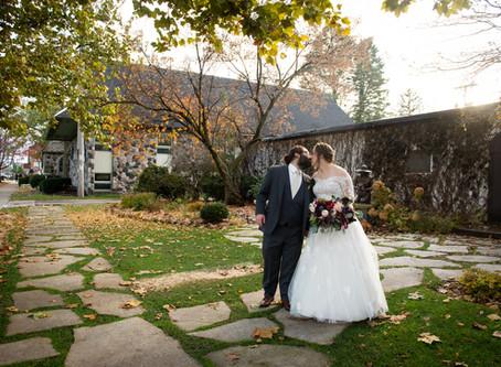 A Fall Wedding at Horticultural Hall, Lake Geneva, WI