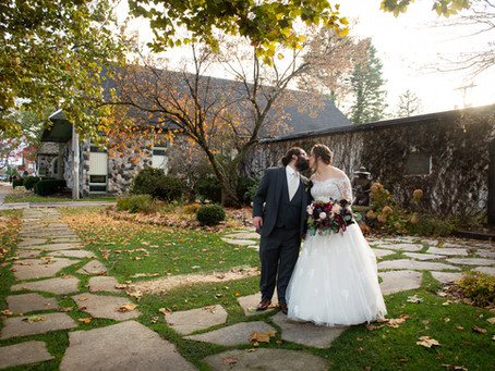 A Fall Wedding at Horticultural Hall, Lake Geneva, WI