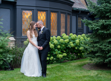 A wedding day at a historical location in Racine, WI. The Covenant at Murray Mansion