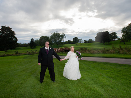 Outdoor Ceremony at Kenosha Country Club, Kenosha, WI