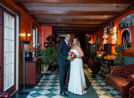 A small intimate wedding at the Golden Mast Inn