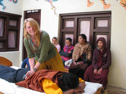 Physiotherapy in Jomsom