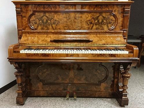 Lipp&Shon古董藝術直立鋼琴