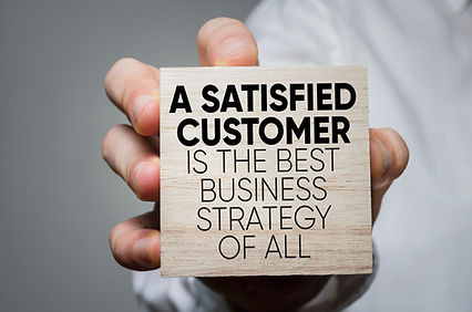 Satisfied customers is our strategy