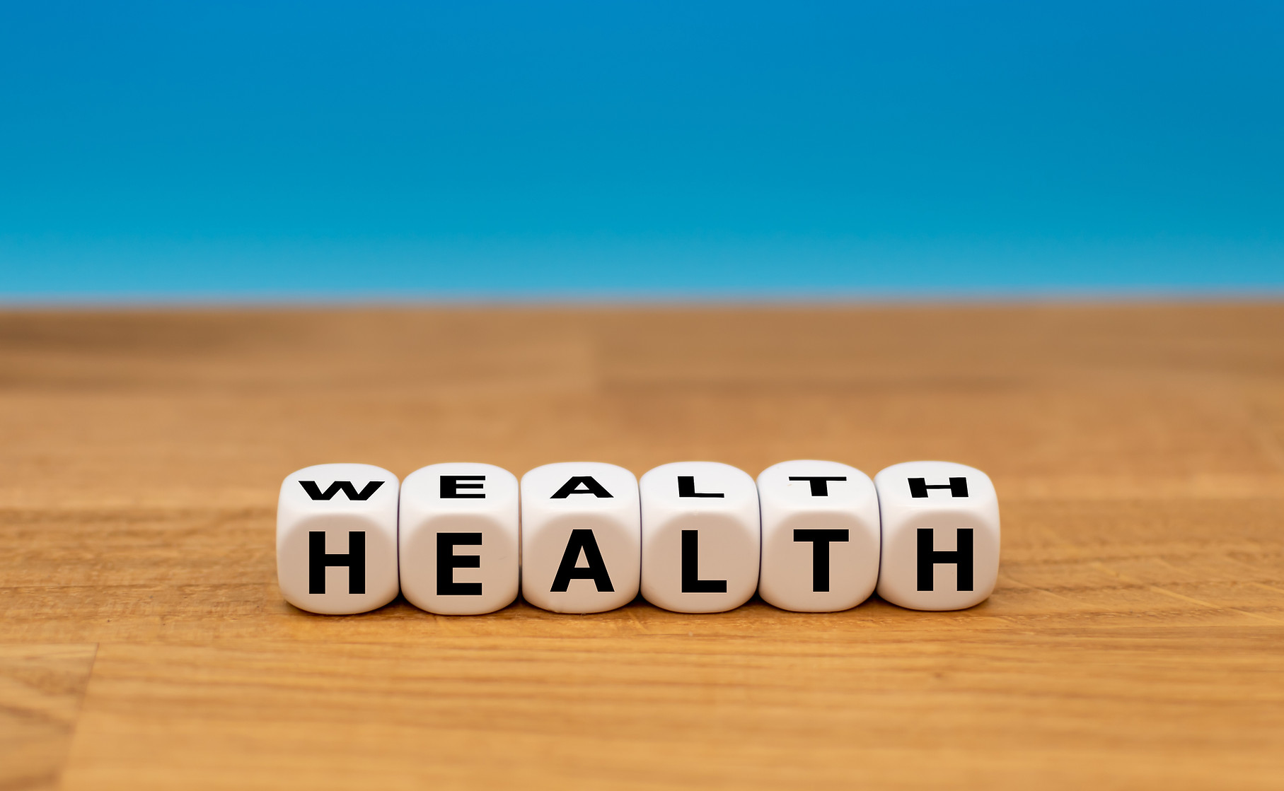 Wealth management in good health