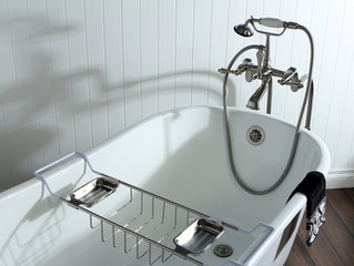 Did you buy a house with claw foot tub?