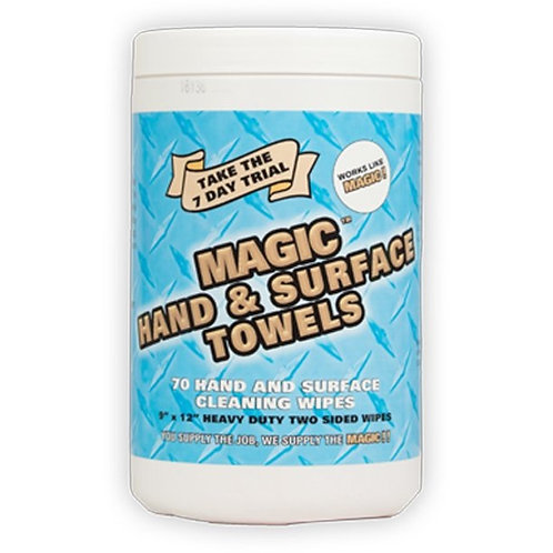 Magic Hand & Surface Towels Case 6 Tubs x 70 sheets