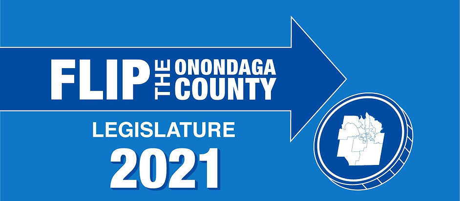 Flip the Onondaga County Legislature Banner