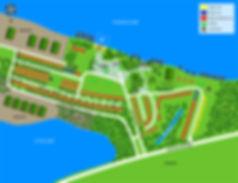 2018 McClintock's Trailer Resort Map
