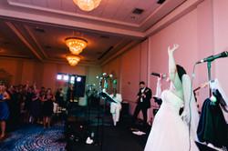 My own wedding reception