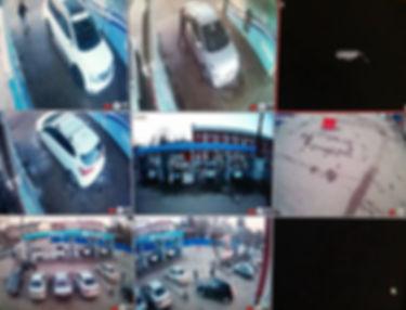 Установка видеонаблюдения на автомойке