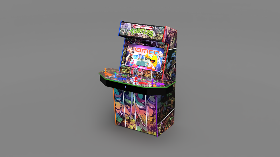Limited Edition 4-Player Ultimate TMNT Arcade Machine