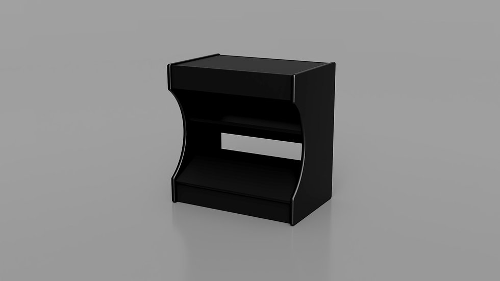 Upright Stand for all Half or Full Size Bartop Arcades