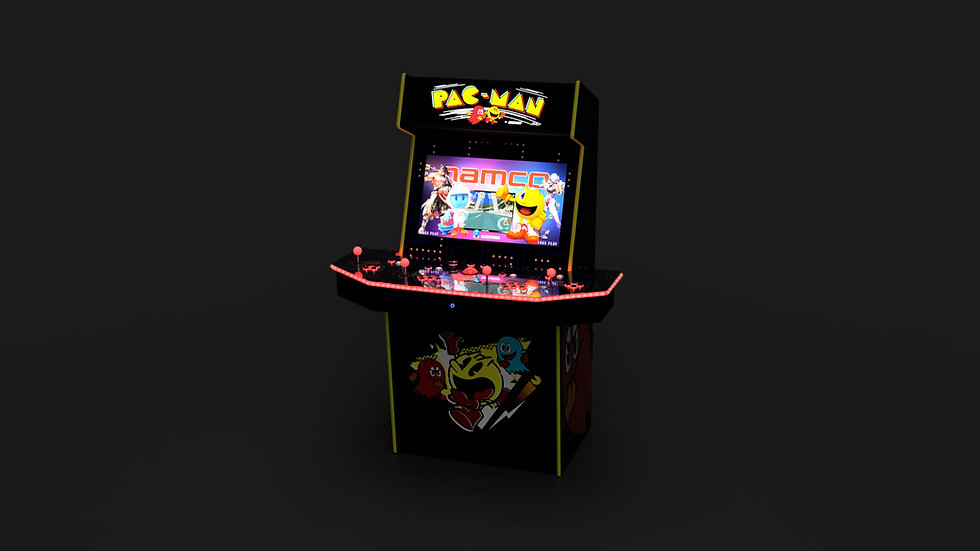 Limited Edition 4-Player Ultimate Pac-Man Arcade Machine