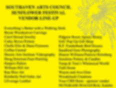 Sunflower Festival Vendor LineUp.jpg