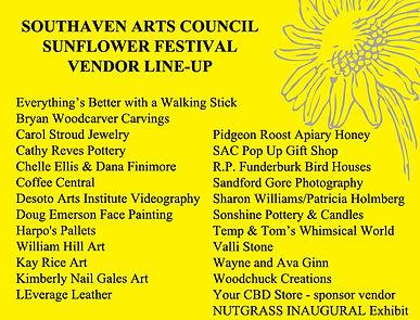 Sunflower Festival Vendor LineUp.jpg
