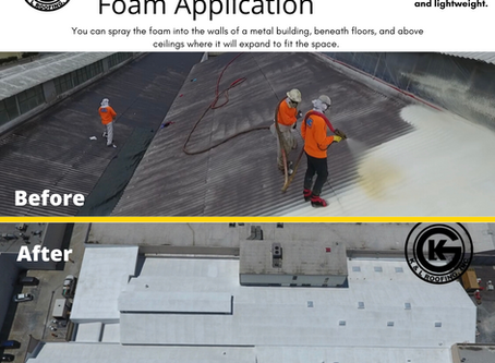 Metal Buildings + Spray Polyurethane Foam = Better Building
