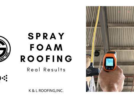 Spray Foam Roofing - Real Results