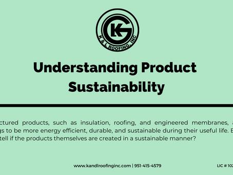 Understanding Product Sustainability