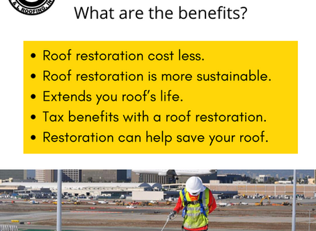Roof Restoration: What are the benefits?