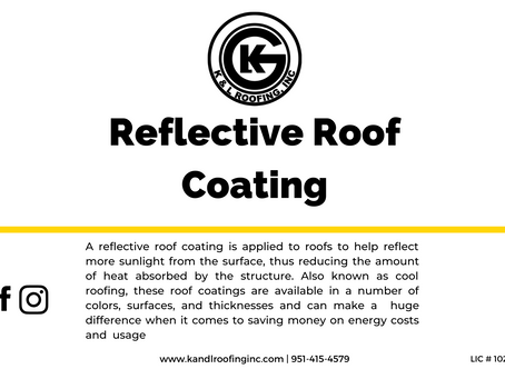 For Reduced Energy Costs, Try a Reflective Roof Coating