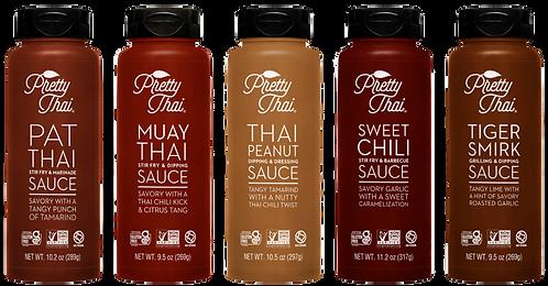 Pretty Thai Sauces 5 pk