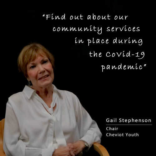 Message from Cheviot Youth Chair Gail Stephenson on our extra services during the CoVid-19 Pandemic