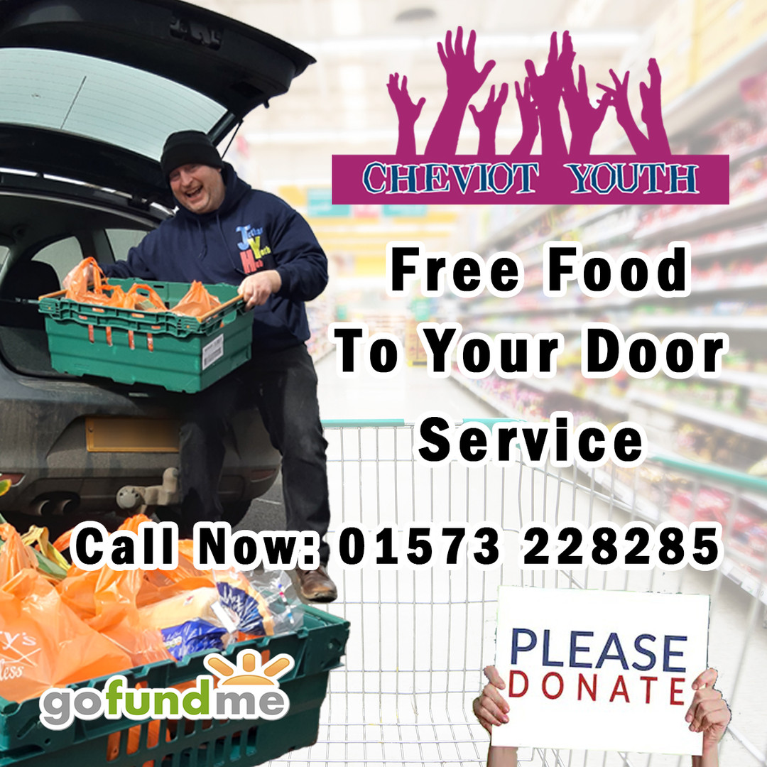Free food to your door - Order a delivery or support our cause!