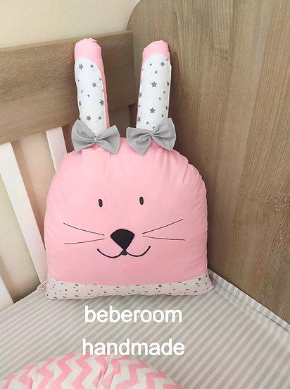 Διακοσμητικό Μαξιλαράκι <<pink rabbit>>