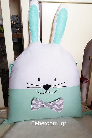 Διακοσμητικό Μαξιλαράκι <<Mint  Rabbit>>