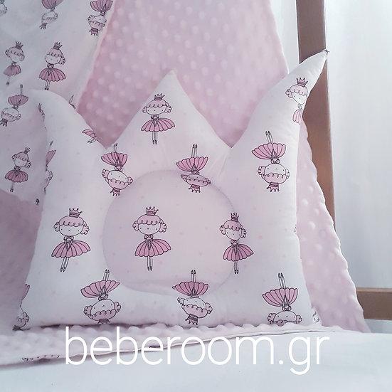 Μαξιλαράκι Ύπνου Kορώνα  <<little princess >>