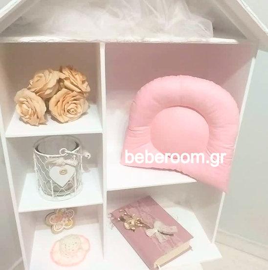 Μαξιλαράκι Ύπνου  <<ροζ μονόχρωμο>>
