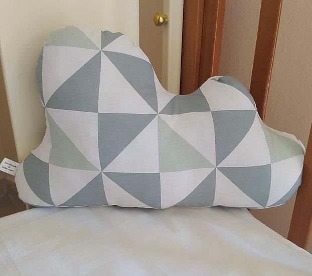 Διακοσμητικό Μαξιλάρι Συννεφάκι Τρίγωνα
