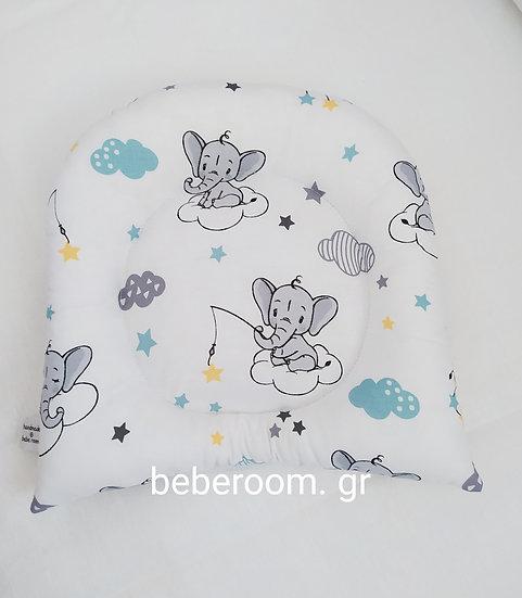 Μαξιλαράκι Ύπνου <<baby ellefant >>