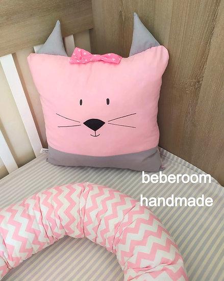 Διακοσμητικό Μαξιλαράκι  <<little cat>>