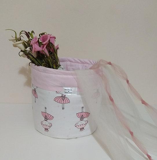 Πάνινο  Καλαθάκι  Καλλυντικών Μπάνιου Little Princesses