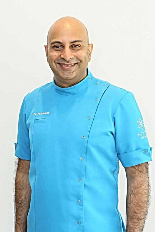 Dr Prashanth Kanakamedala Clinical Director Azure Dental