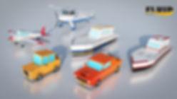 Fluidworks | Free 3D model pack