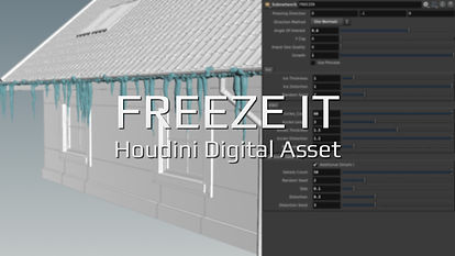 Fluidworks | Freeze It Free Houdini Asset