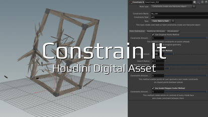 Fluidworks | Constrain It Free Houdini Asset