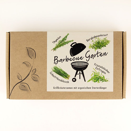 "Kräutersamen-Geschenkbox ""Barbecue Garten"""