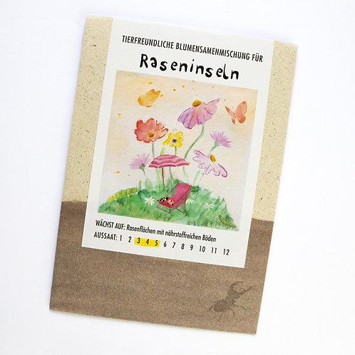 Blumensamenmischung für Raseninseln