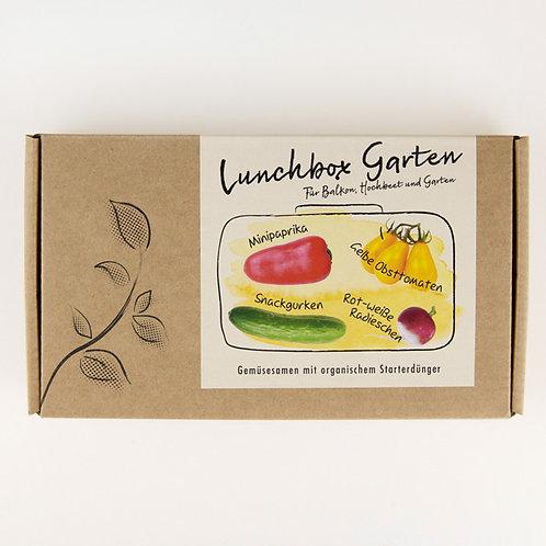 """Gemüsesamen-Geschenkbox """"Lunchbox Garten"""""""