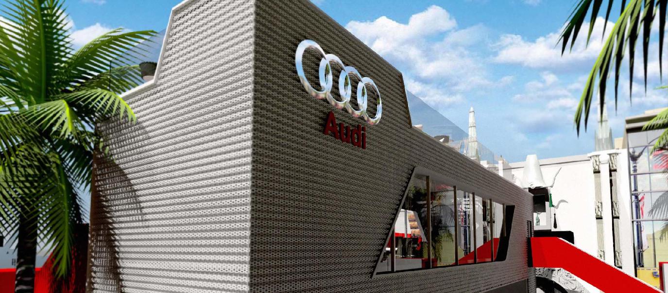 Audi Terminal Bridge
