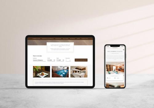 Site internet Calyspo Hotel & Spa