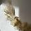 Thumbnail: Cercle doré fleurs séchées n°5